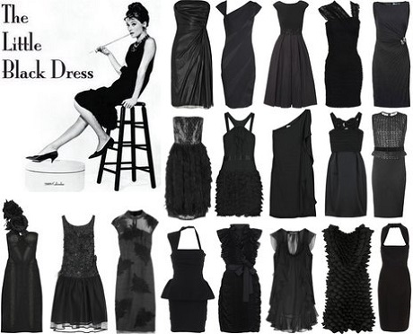 The litte black dress