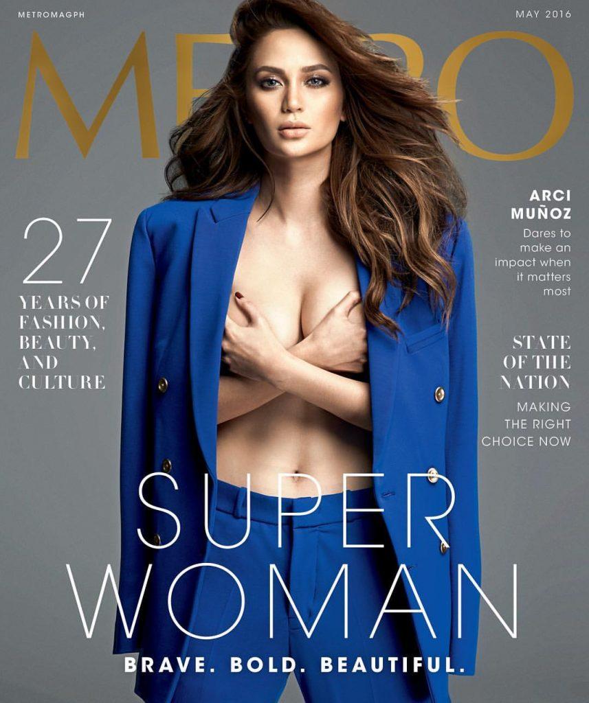 Capa revista Metro Magazine - May 2016