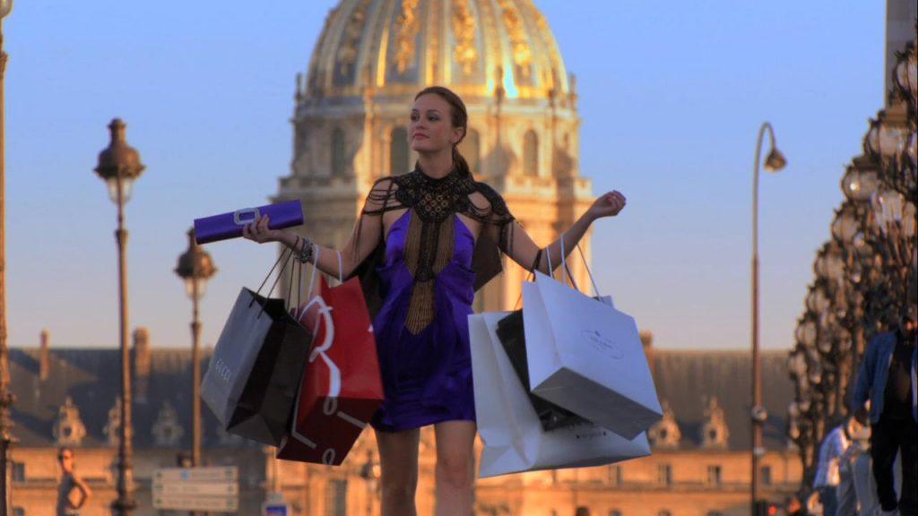 Gossip Girl - Blair fazendo compras